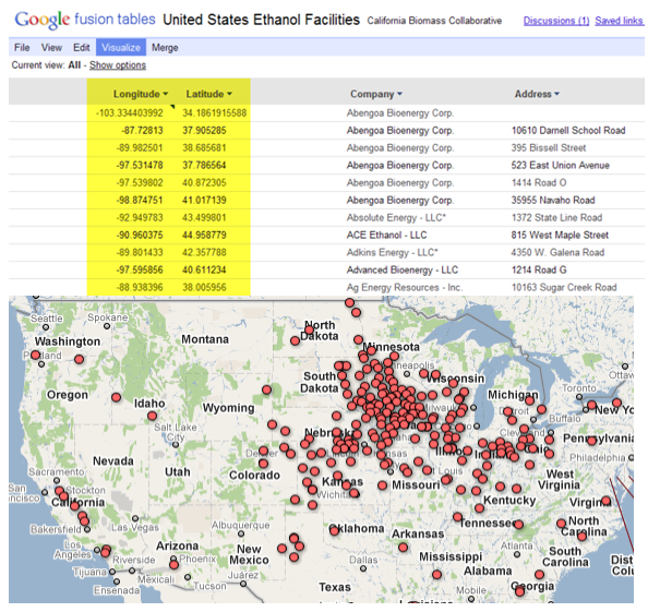 Bringing Data To Life With Google Fusion Tables (Free Course)